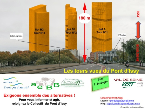 Tract Collectif Pont d'Issy recto